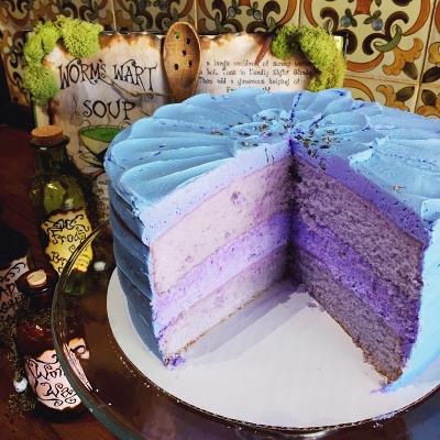 creme-and-sugar-halloween-lavender-cake-anaheim-bakery-coffee-tea