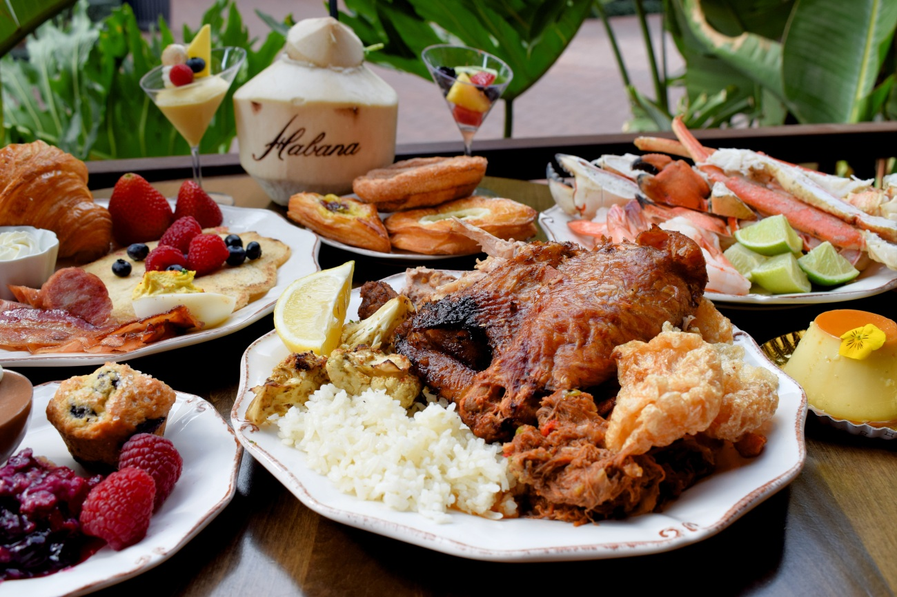 Habanas Sunday Brunch Buffet Available At The Irvine Spectrum