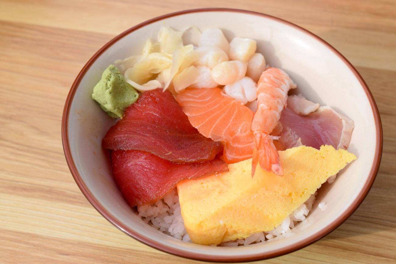 meiji-noodles-oki-doki-udon-sushi-tuna-lake-forest-lunch-special-menu-oc-food-fiend-mission-viejo-japanese-OCFoodFiend-restaurant-blogger-mucho-mahalo-chirashi