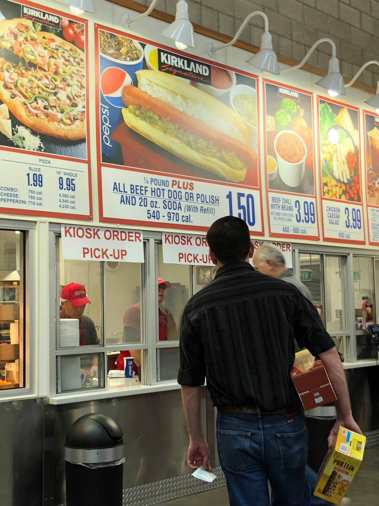 Costco Tests New Food Court Self Service Kiosk Oc Food Fiend