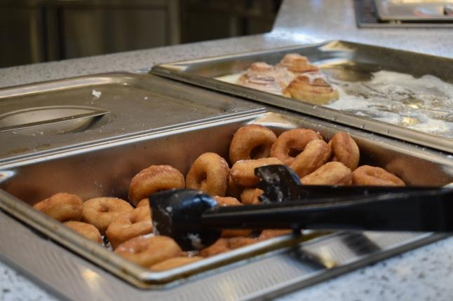 Donuts for dessert!