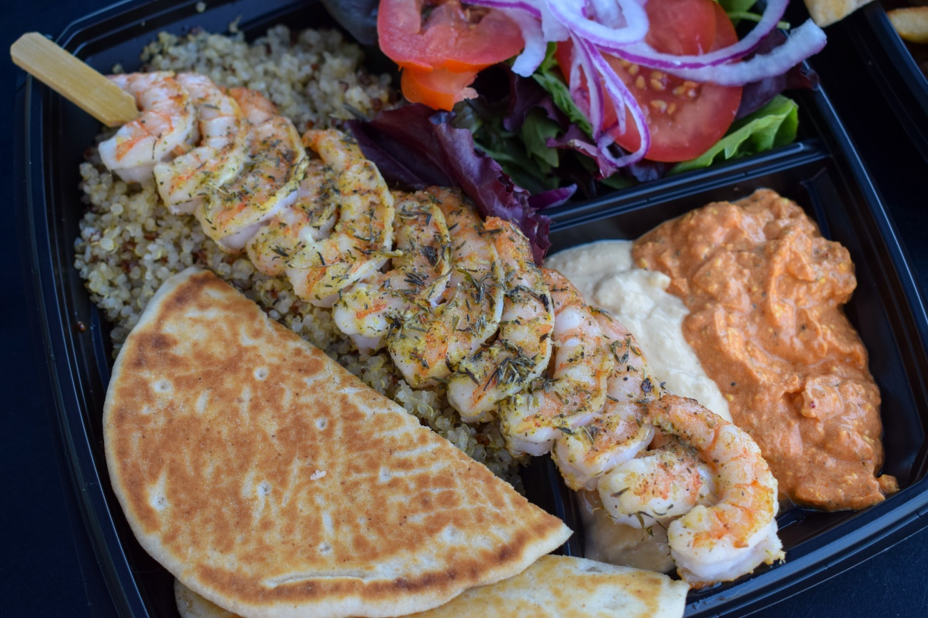 Apola-Gyro-Greek-Grill-Casual-Fast-Food-Irvine-Tustin-Customer-Appreciation-Event-Promotion-Sale-Deal-OCfoodfiend-OC-food-fiend-Orange-County-Blogger-Instagram-Shrimp