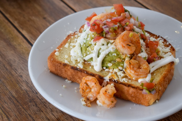 Means-and-Ways-Brunch-Pacific-City-Huntington-Beach-OC-Food-Fiend-Orange-County-SoCal-Mimosa-Alchohol-Blogger-Foodie-Instagram-Shrimp-Avocado-Toast