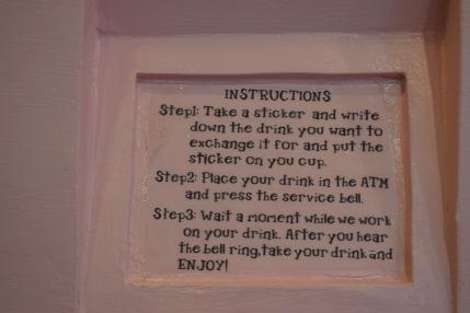 Drink Exchange Instructions